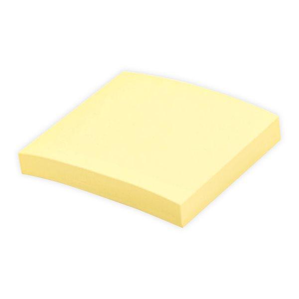 Feuillets autoadhésifs Offix® 3x3 jaune (100 feuilles)