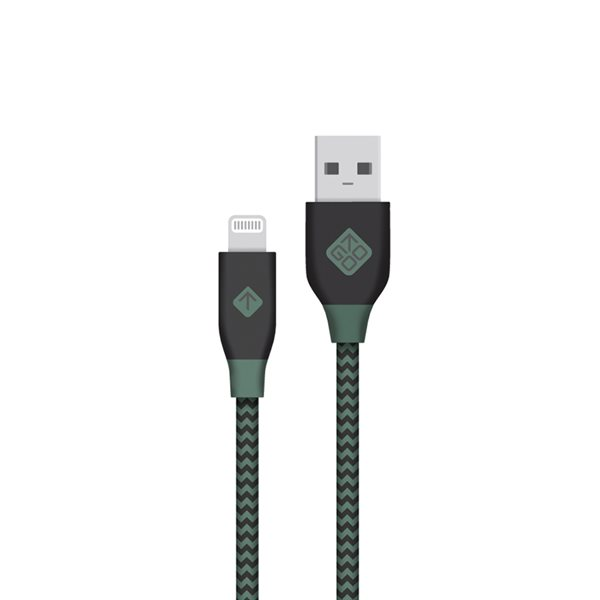 Câble USB Lightning Vert
