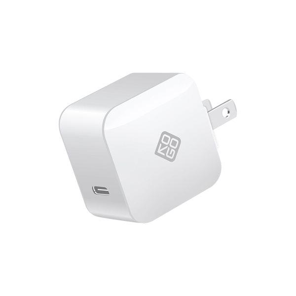Chargeur PD USB-C Blanc