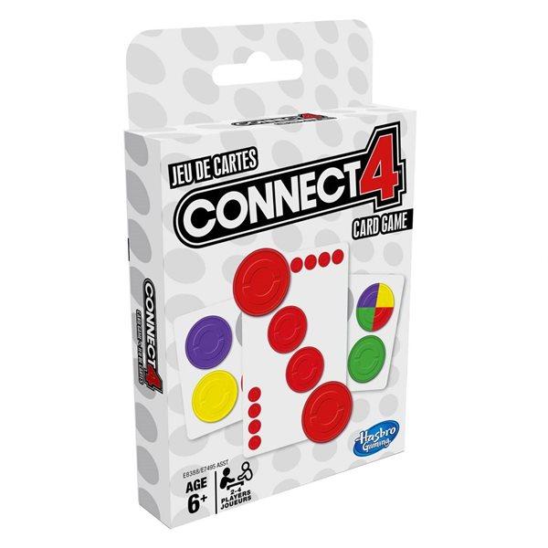 Jeu de cartes classique connect 4