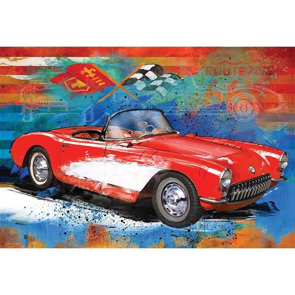 Casse-tête 550 morceaux En Corvette (métal)