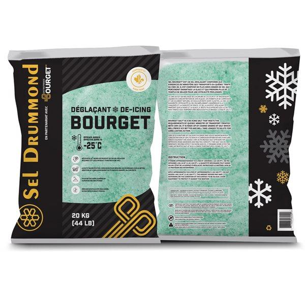 Sel déglaçant Bourget 20 kg