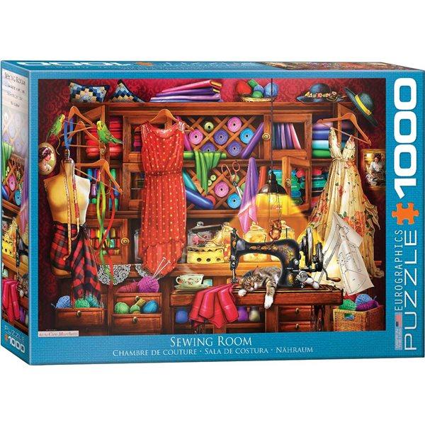 1000 morceaux Chambre de couture