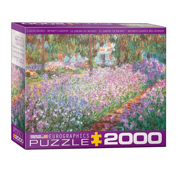 Casse-tête 2000 morceaux Jardin de Monet