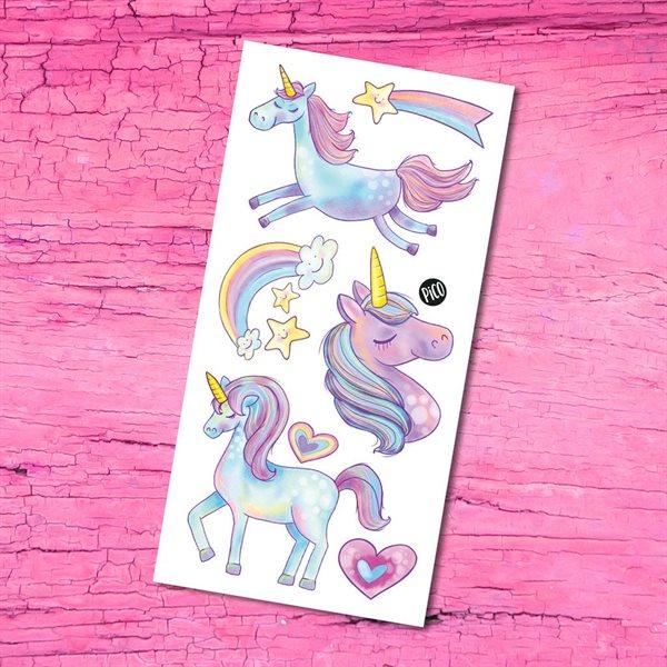 Pico tatoo Les mignonnes licornes