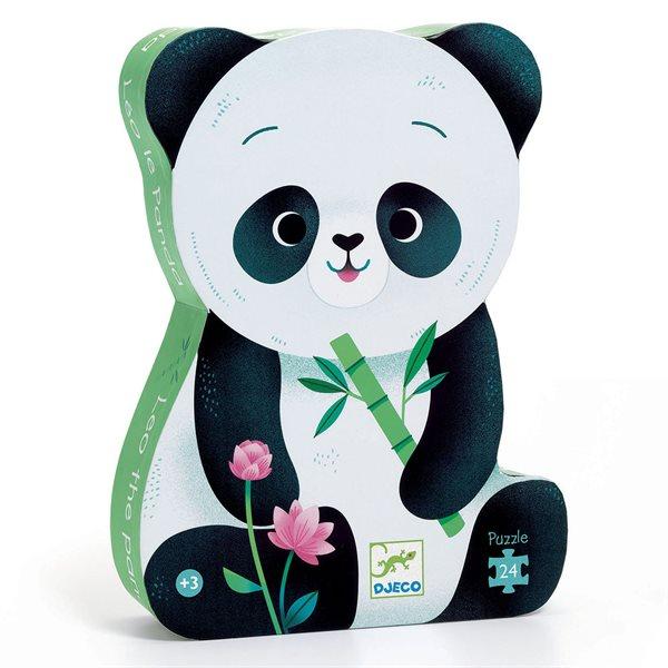 Casse-tête 24 morceaux Léo le panda
