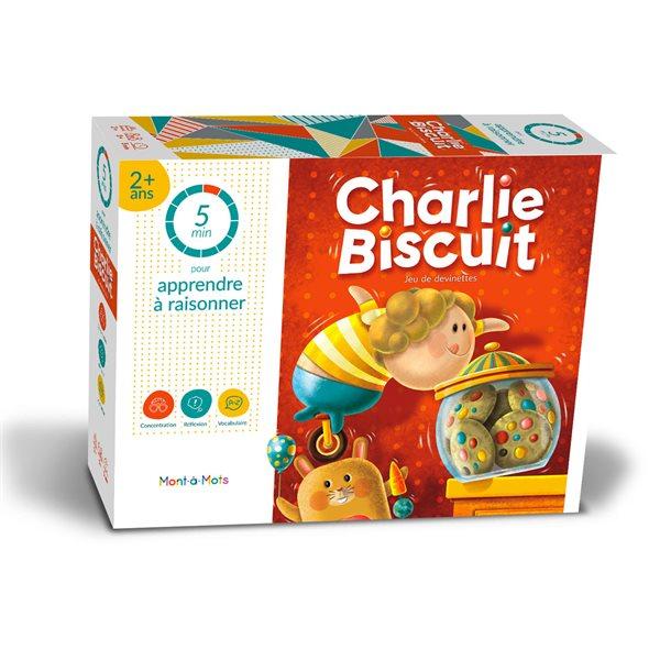 Jeu Mont-à-Mots 5 minutes Charlie Biscuit