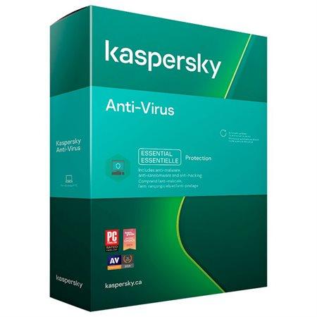 Kaspersky Anti-Virus 2021 1 utilisateur
