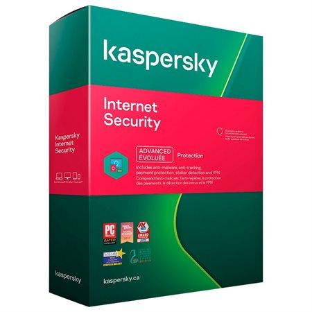 Kaspersky Internet Security 2021 1 utilisateur
