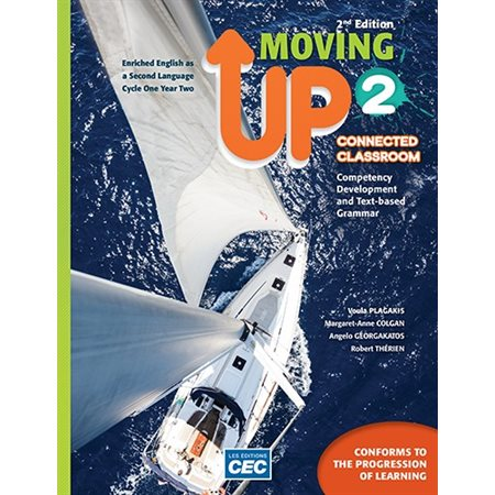 Moving Up Secondary 2 - Content Workbook 2nd Ed. with Interactive Activities