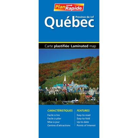 Province de Québec (carte routière)