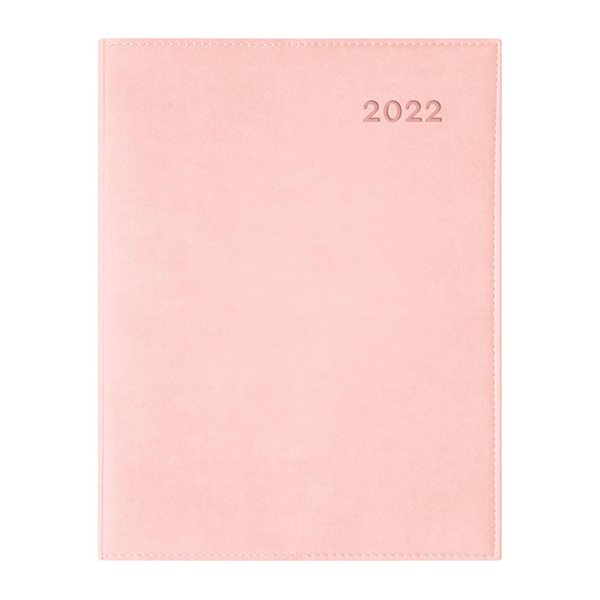 Agenda hebdomadaire W. Maxwell Ulys (2022) - Rose