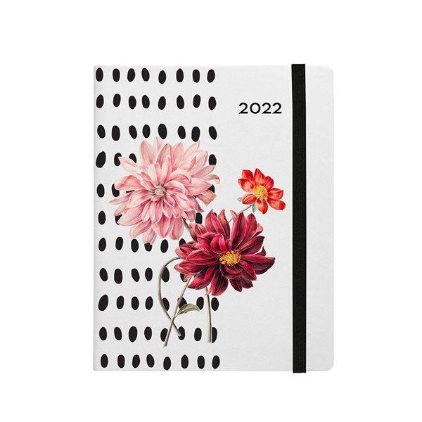 Agenda hebdomadaire W. Maxwell Melville (2022) - Fleur