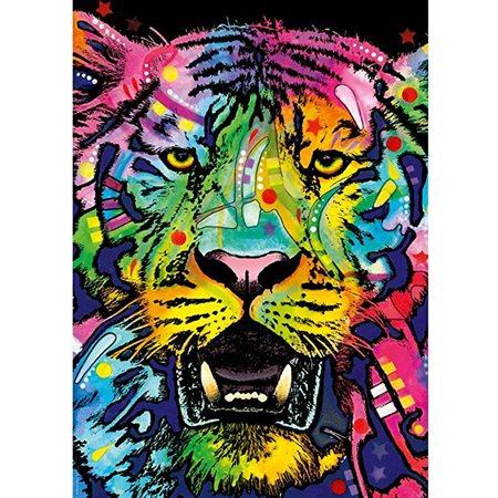 Casse-tête 1000 morceaux Jolly Pets Tigre sauvage