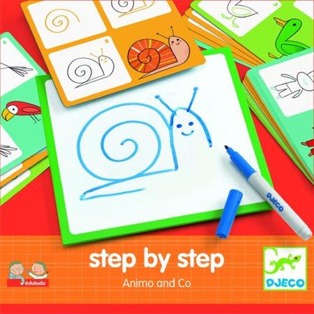 Dessin étape par étape- Animaux