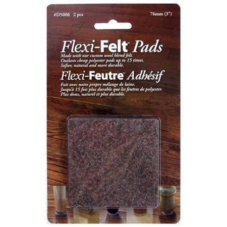 FLEXI FEUTRE ADHESIF 75mm x 75mm