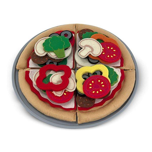 Pizza en feutre