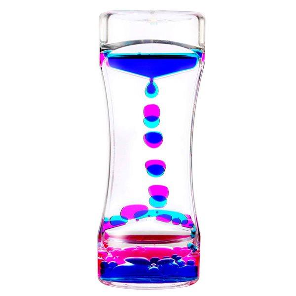 Sablier sensoriel mélange de couleur Rose et bleu