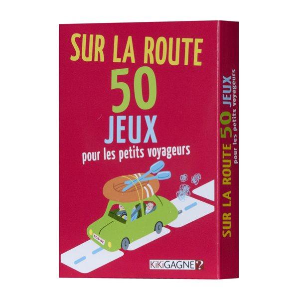 SUR LA ROUTE 50 JEUX POUR PETITS VOYAGEURS