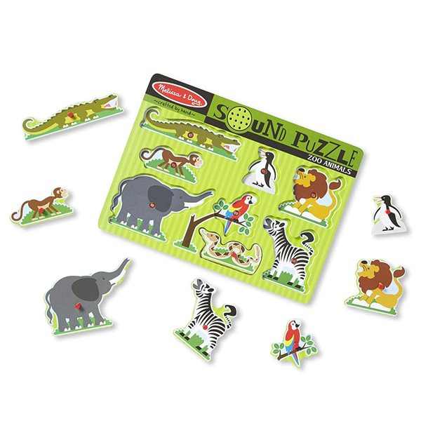 SONORE 8 PCS ZOO