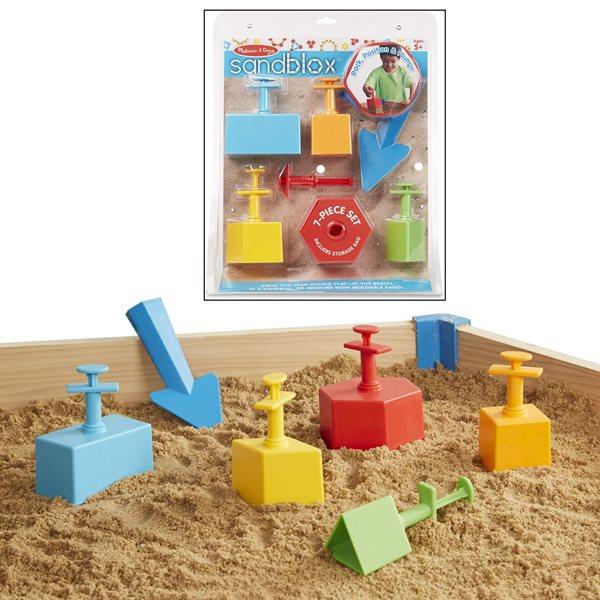 Moules et outils pour château de sable