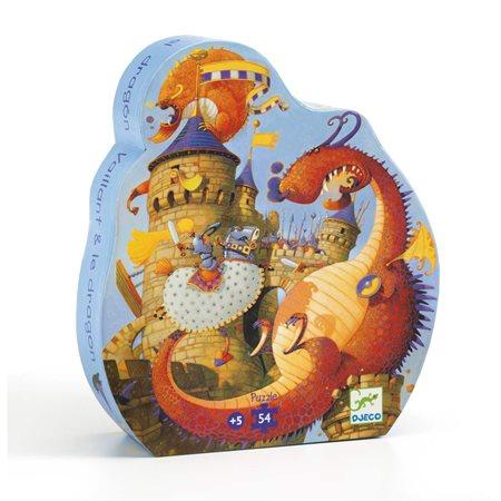 Casse-tête 54 morceaux Vaillant et les dragons