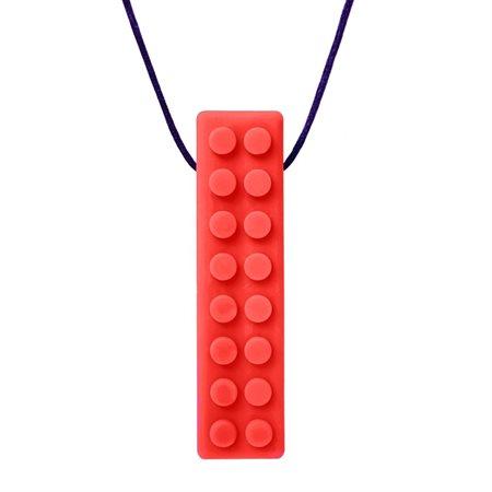 COLLIER LEGO ROUGE-SOUPLE