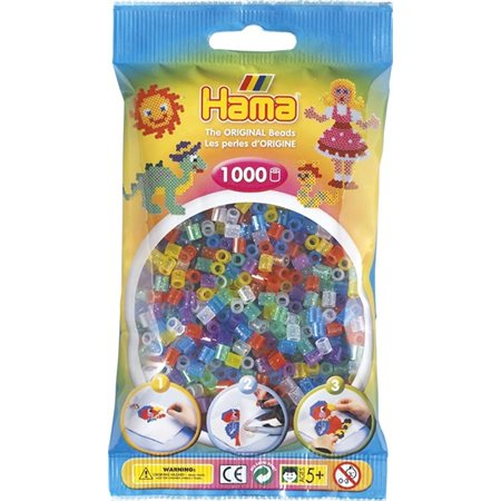 PERLES HAMA 1000 BRILLANT