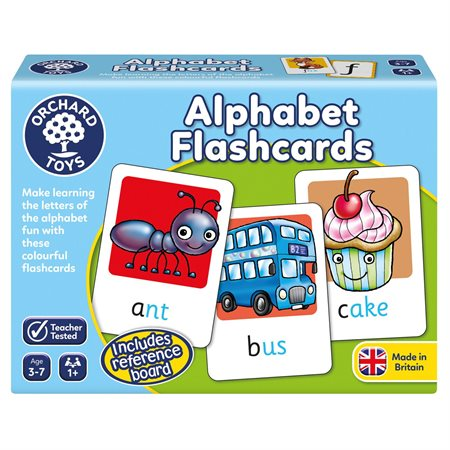 ALPHABET FLASHCARDS (ANGLAIS)
