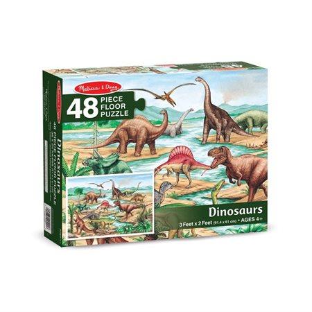 48 PCS DINOSAURES