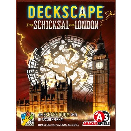 Jeu Deckscape : Le destin de Londres