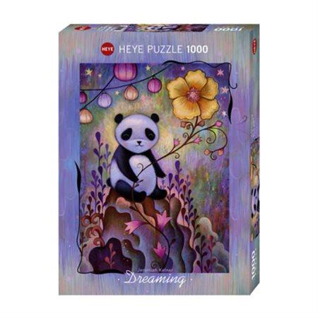 Casse-tête 1000 morceaux Siestes de panda