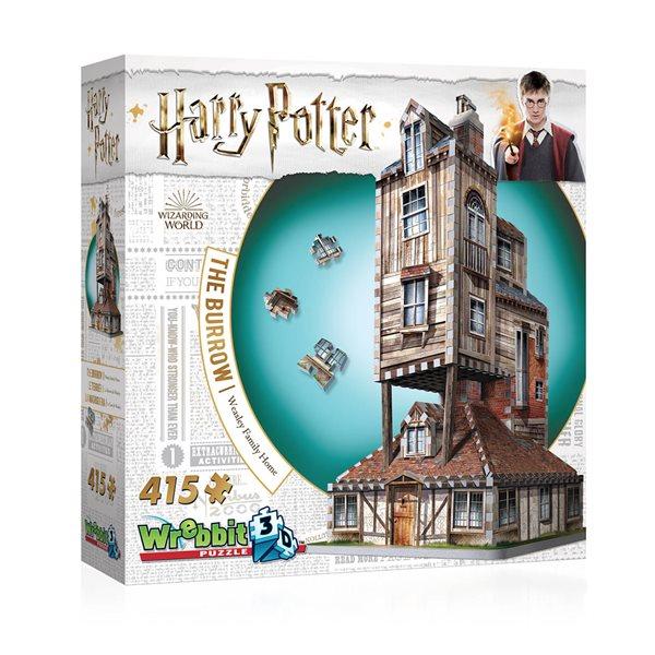 Casse-tête 3D 415 morceaux Le terrier maison des W