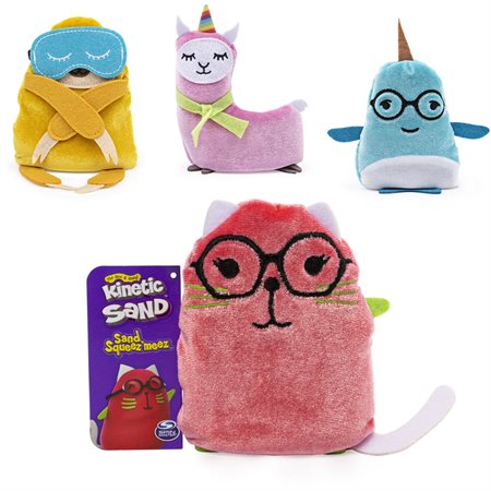 SQUISHIES EN SABLE KINETIC