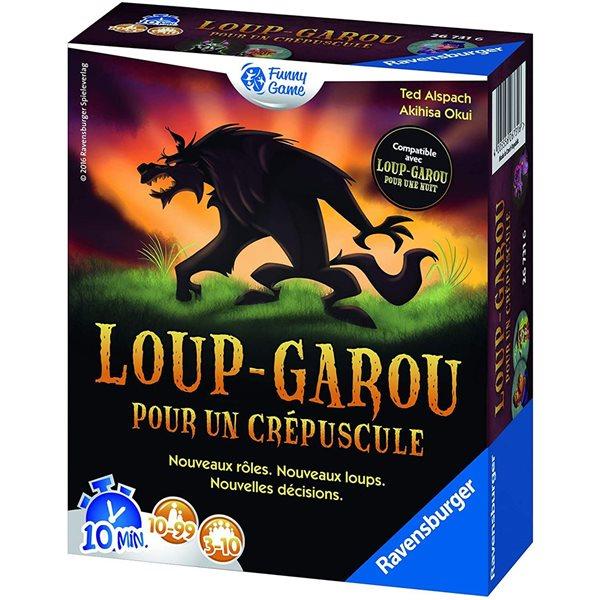 Jeu Loup-Garou pour un crépuscule