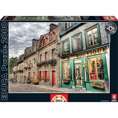 Quartier le petit champlain Québec 2000 pièces