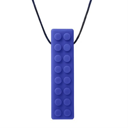 COLLIER LEGO BLEU FONCÉ-SOUPLE