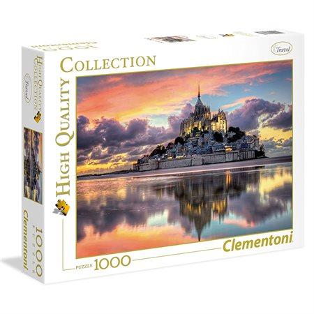 Casse-tête 1000 morceaux Magnifique Mont-Saint-Mic