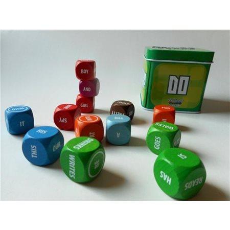 Rolling cubes - Les mots ont la parole - Anglais