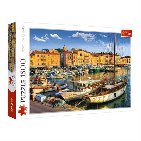 Casse-tête 1500 morceaux Vieux Port, Saint-Tropez