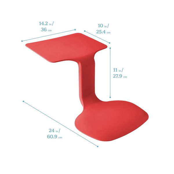 TABLE SURF ROUGE