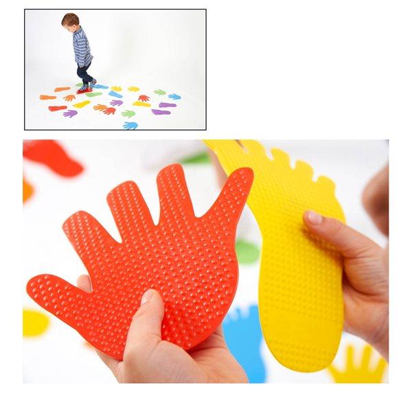 Empreintes de mains pour marquage au sol