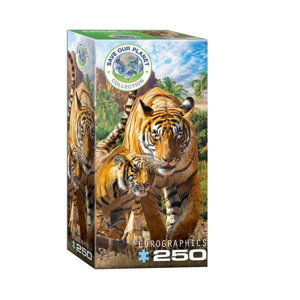 Casse-tête 250 morceaux Tigres