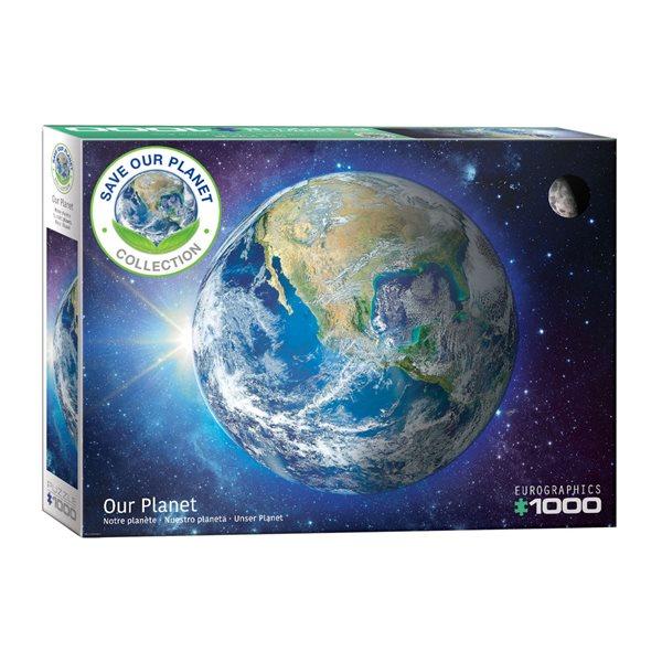 Casse-tête de 1000 morceaux Notre planète
