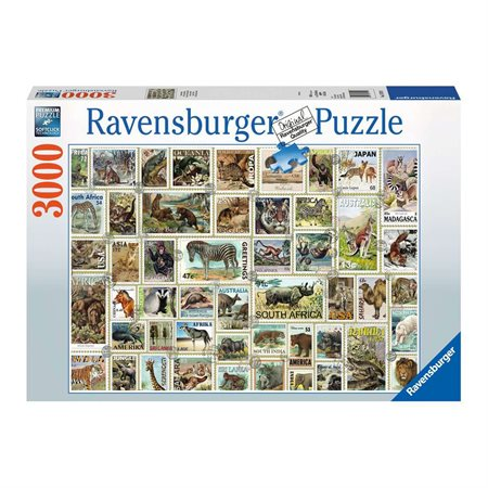 3000 PCS TIMBRES ANIMALIERS