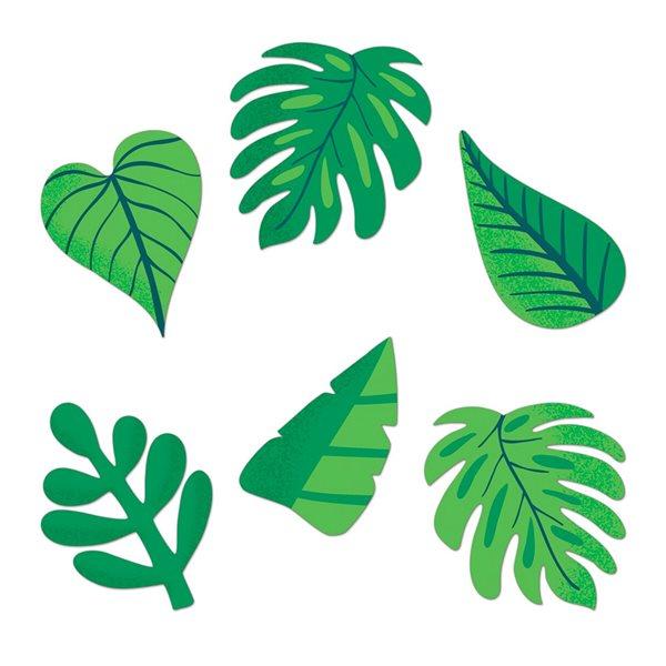 Découpe feuilles tropicales jumbo