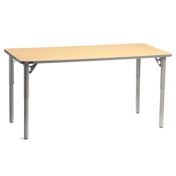Table Aktivity 24x48 érable  / gris foncé