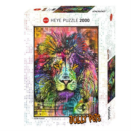 2000 PCS JOLLY PETS COEUR DE LION