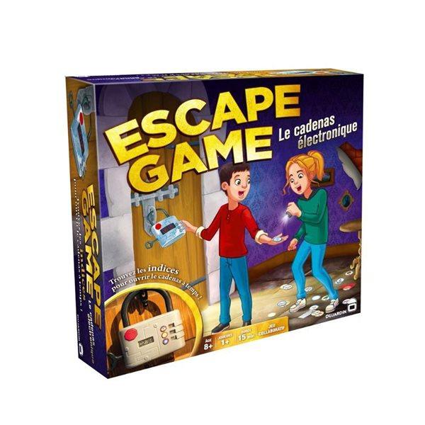 Jeu Escape Game - Le Cadenas électronique