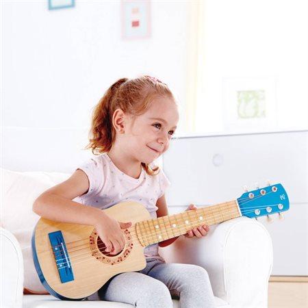 Guitare lagon bleu